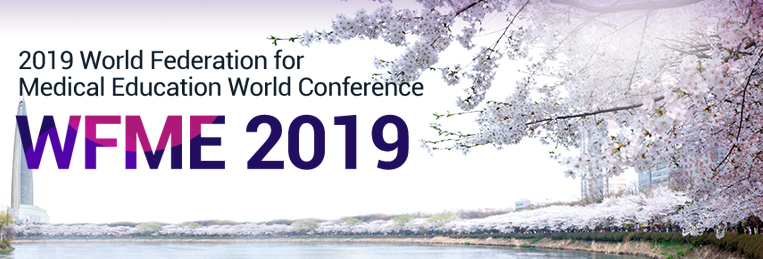 AMSE at the 2019 World Federation for Medical Education World Conference, 7 - 10 April 2019, Seoul / South Korea
